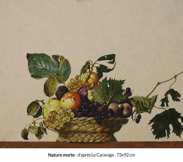 le-caravage-nature-morte